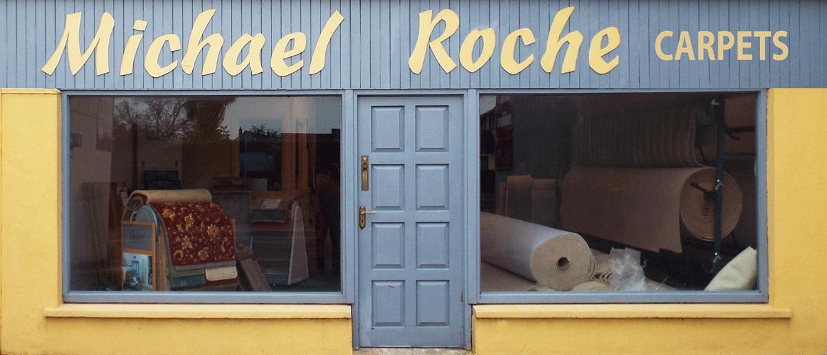 Michael Roche Carpets Dungarvan Shop Window