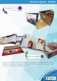 Brochures, Reports & Booklets