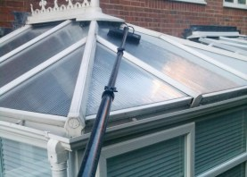 Conservatory Gutters/Fascia Pressure Washing